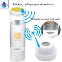 Hydrogen generator Japanese craftsmanship Hydrogen rich water electrolyzation water for H2 600ML Wireless transmission
