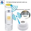 Waterstof generator Japanse vakmanschap Waterstof rijke water electrolyzation water voor H2 600ML Draadloze transmissie