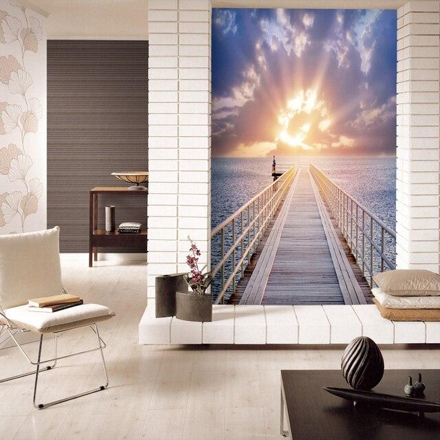 Env o libre moderno minimalista estereosc picas 3d papel for Papel tapiz de patron para el pasillo