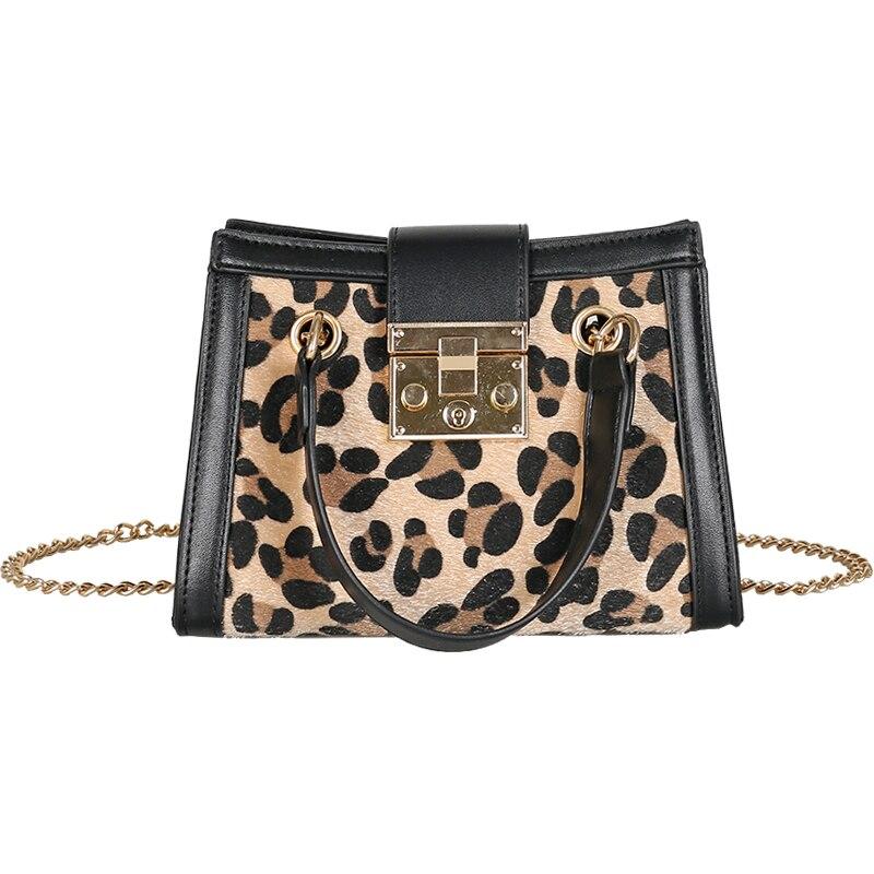 614d9861402 Women s handbags new zebra fashion crossbody bag designer leopard bag chain  pig nose lock retro shoulder