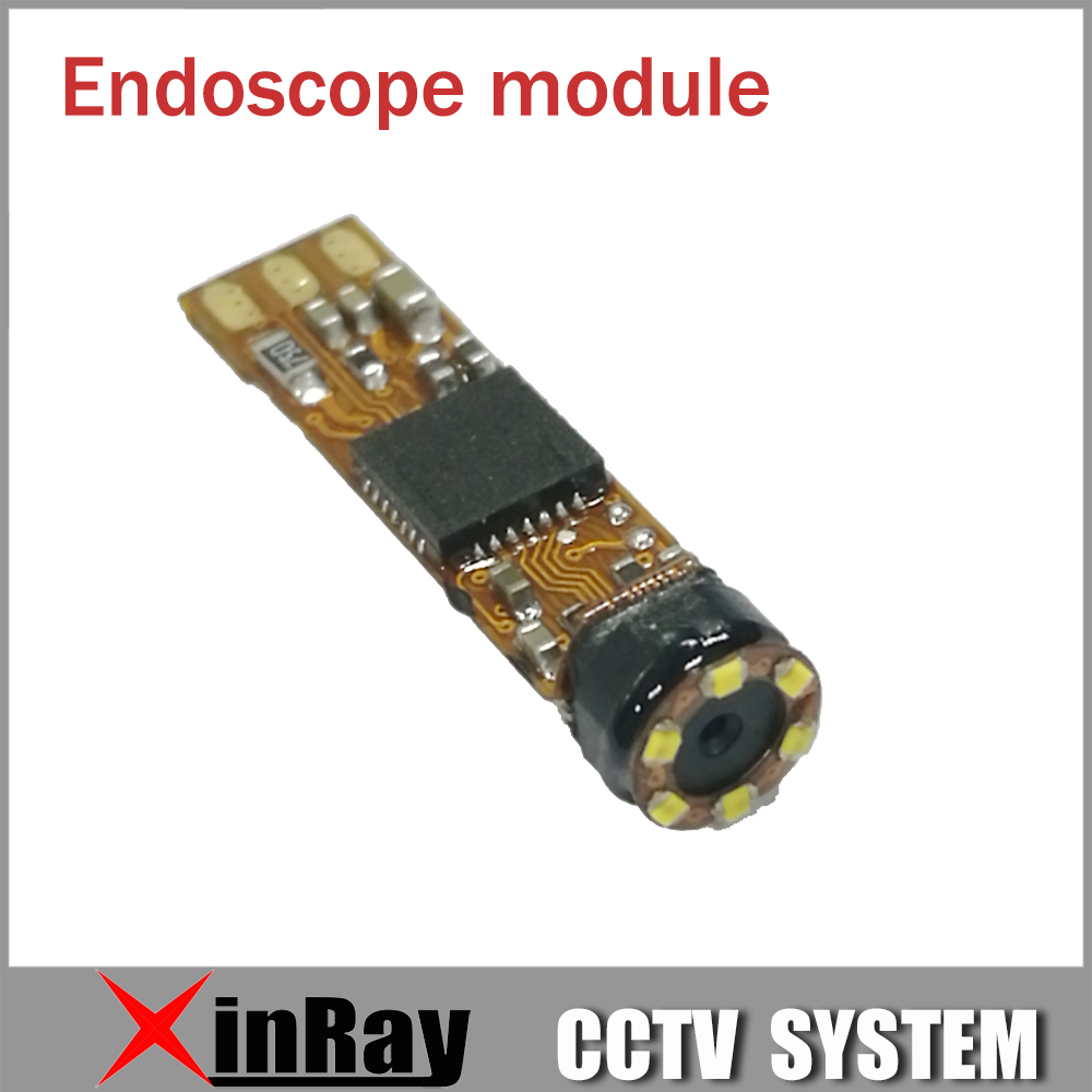 New Updated Super Mini 4.5mm USB Endoscope Module with 6 LED for Tube Snake Endoscope Camera DIY Inspection Camera XR-IC2M45 chinscope 99d 2 4 inspection endoscope diameter 3 9mm camera 1m tube length snake industrial endoscope with carrying box case