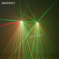 Free Shipping High Quality Red Green Laser Gloves Halloween Party Glowing LED Clothing Accessories Night Arena Stage Laser Show