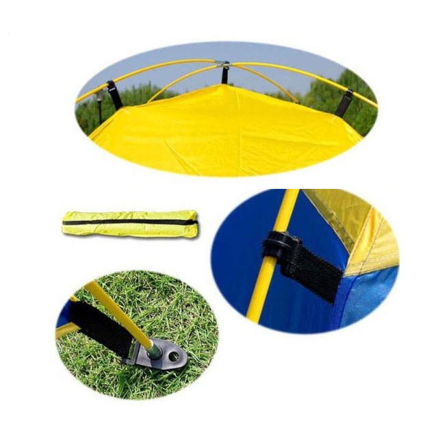 175*150*140cm Outdoor Camping Sun Shelter Shade Beach Tent for Summer Holiday Fishing Swimming Boat Fishing Roof Tent 3-4 Person