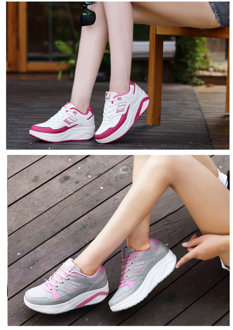Autumn winter outdoor Girls Sneakers Platform Running Shoes for Women Sneakers Sports Shoes White Sneakers 5