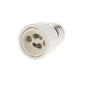 BEYLSION E27 إلى GU10 تحويل مصباح ليد المصباح الكهربي محول محول المسمار المقبس مواد السيراميك E27 إلى GU10 المقبس لمبة قاعدة