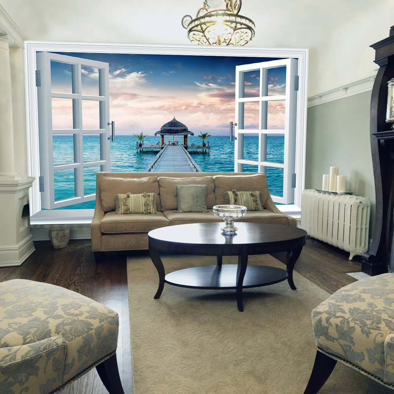 Custom made wall murals for Scenery wallpaper for bedroom