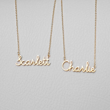 Romantic Gift 316L Stainless Steel Custom Personalized Name Choker Rose Gold Color Handwriting Signature Customized Necklace