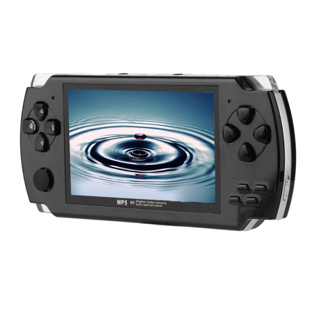 цены 4.3 Inch 480*272 High Speed TFT Display Hand-held Video Game Console Player Compact Portable Video Music Game Console