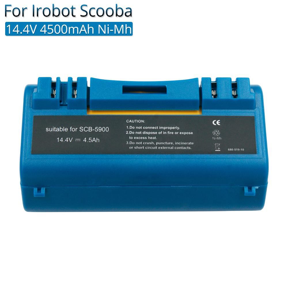 2x Akku 3500mAh für iRobot i-Robot Scooba 14904 BPL18151 330 340 350 385 590 580