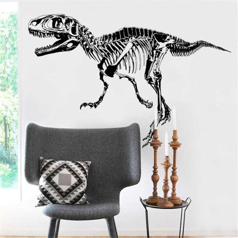Home Decor Dinosaur Fossils Animals Home Decor Removable Wall Stickers Decals Decoration wall sticker Home Deco mirror AU6