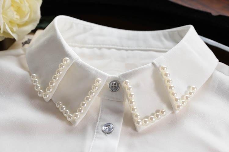 Бродирана звезда жилетка блуза - Аксесоари за облекла - Снимка 3