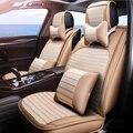 (Frente + Traseira) Couro especial tampas de assento do carro Para Subaru forester impreza legacy Outback Tribeca xv do património auto acessórios