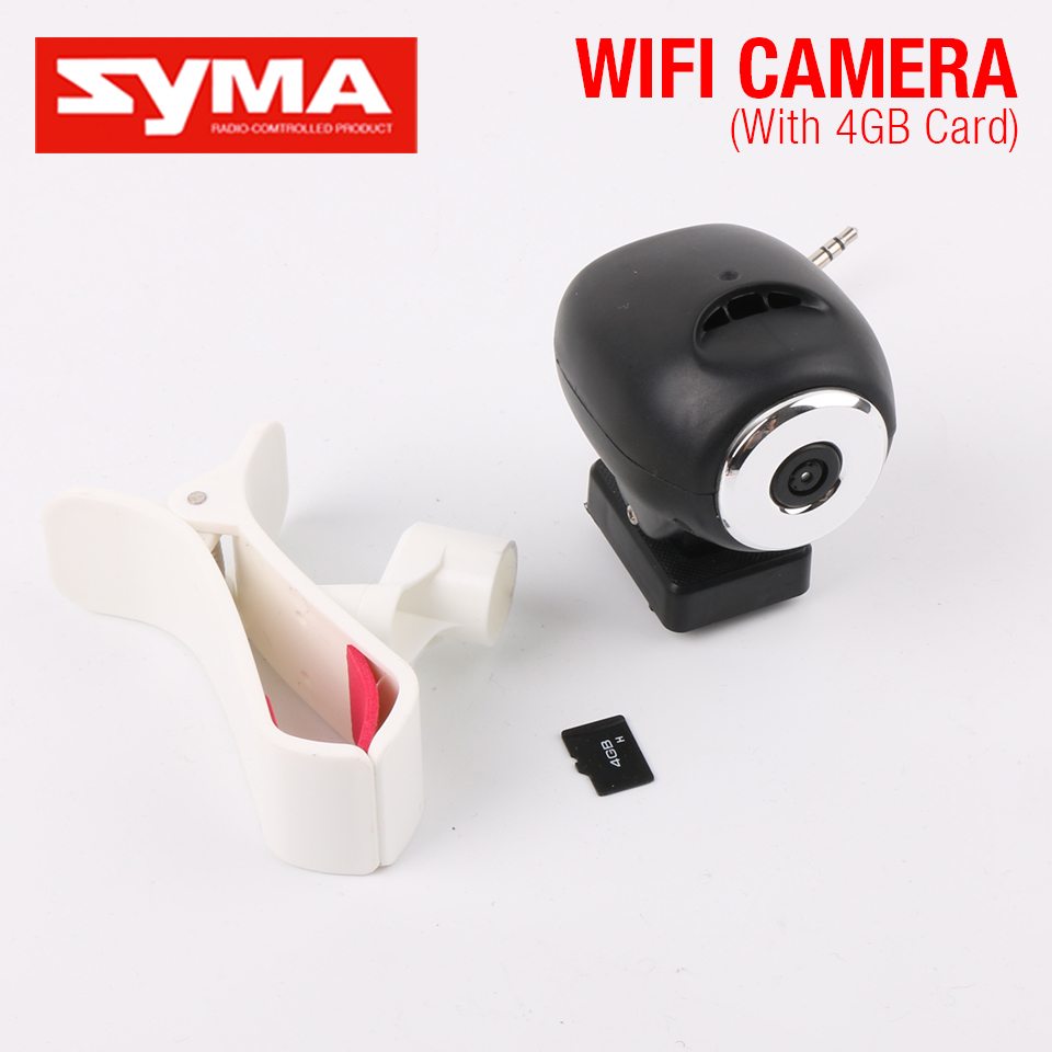 100% Original Syma X8 X8W WIFI Camera or 8MP HD Camera 2.4G 4CH RC Helicopter Spare Parts Dron For Syma X8C X8W X8G X8HW X8HG vho power syma x8w rc drone lipo battery 5pcs 2s 7 4v 2500mah and eu charger for syma x8c x8w x8g x8hg rc helicopter spare parts