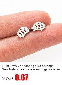 New Earrings Fashion Simple Stud Earrings Personality Trendy Three ways to wear Triangle Earring Wholesale Jewelry Womens Earing 7