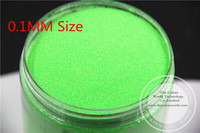 TCF501 Neon Green Colors 0 1mm Size Solvent Resistant Glitter For Nail Art Nail Polish Or