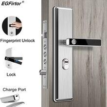 Paslanmaz çelik parmak izi kafa yarıiletken parmak izi kilidi akıllı kapı kilidi otomatik güvenlik kapısı elektronik kilit