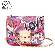 High Quality Small Women Messenger Bags PU Leather Luxury Famous Brands Designer Quilted Crossbody Bag for