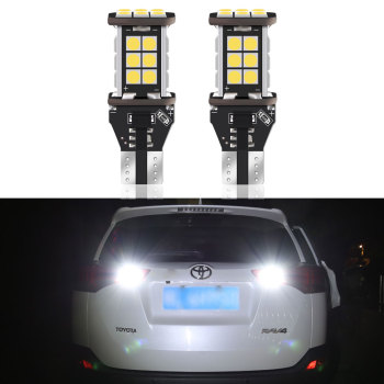 2X Canbus T15 W16W W21W 7440 T20 LED Backup Reverse Light lamp For Toyota Rav4 2006 - 2016 2017 2018 2019 Error Free White Xenon image