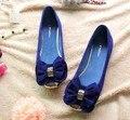 Freeshipping Best Selling New Arrival Autumn Spring Korean Design Bowknot Elegant Flat Shoes 3 Colors EUR33-43 V050