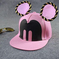 2015 New Snapback Hats Baseball Mickey Ears with a funny hat Casquette Hip-Hop Flat Snapbacks Bones Aba Pmn for men and women
