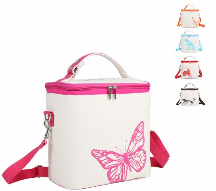 Baby Thermos bag Milk food Lunch Insulation Cup Bag Storage Waterproof tote Mummy Bag <font><b>Cooler</b></font> Beam Lunch Box Feeding Bottle Cover