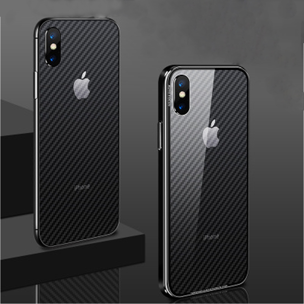 Image 3 - Buyruo Carbon Fiber Soft Back Screen Protector Sticker For apple iPhone XS Max XR Film full cover For iphone X 7 8 6 6S Plus-in Screen Protectors from Consumer Electronics