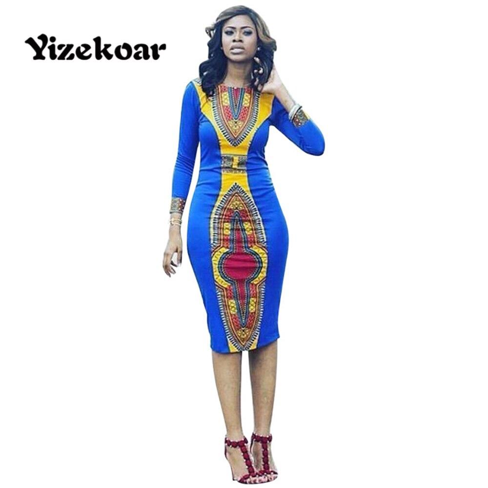 Yizekoar 2017 Women African Tribes Vintage Print Sexy