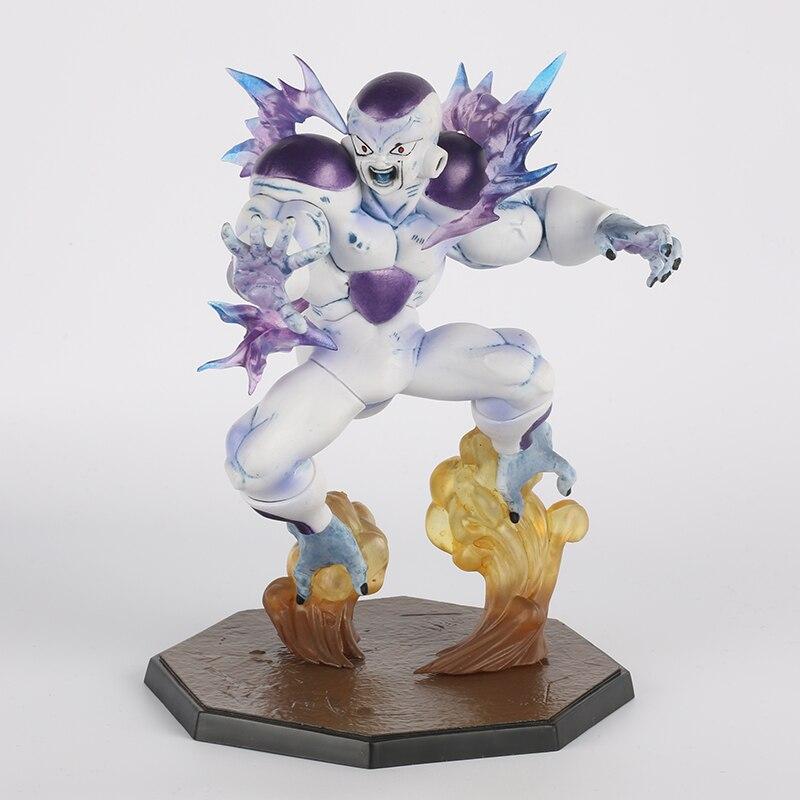 ФОТО Kids Toys Japanese Anime figuras Anime Figurine  Dragonball Z  ZERO  Frieza Model Toys 18cm PVC SYP-0006