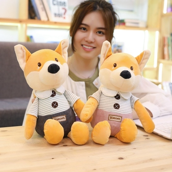 New hot 30cm/40cm Plush Toys Cute Fox Eddy Plush Stuffed Animals Toys Doll Soft Toy Brinquedos for Children Kids Christmas Gift 220cm stuffed animals giant removable crocodile doll for decorative pillows kids toys valentines day gift juguetes brinquedos