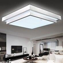Popular 300mm square ceiling lamp 12W led lampshade ceiling light study foyer balcony lighting