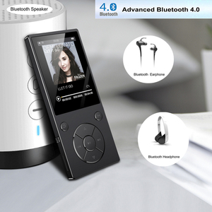 Image 5 - 2020新ハイファイ音楽ロスレスMP4プレーヤーbluetooth hd Screen2.4inch内蔵スピーカー16グラムMP4音楽プレーヤーsdカードまで128グラム