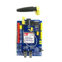 Free Shipping 1PCS LOT SIM900 GPRS GSM Shield Development Board Quad Band Module Compatible High Quality
