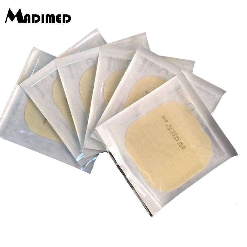 MADIMED 10pcs/box Sticking Transparent Ultra Thin Hydrocolloid Wound Dressing For Pressure Ulcer Bedsore Nursing Sticker Bedsore