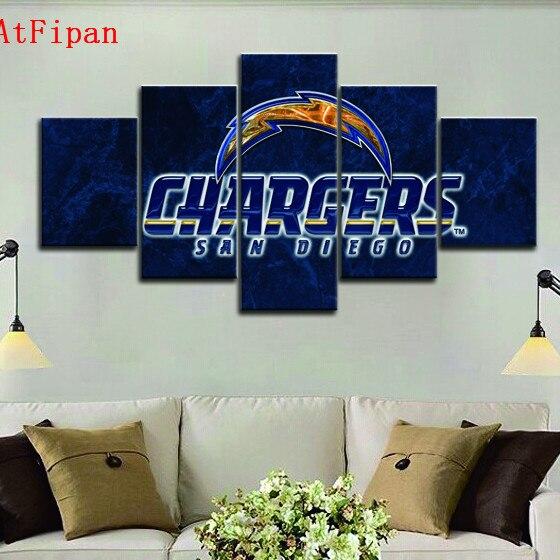 Home Decor San Diego: AtFipan Chargers San Diego Modern Home Wall Decor Painting