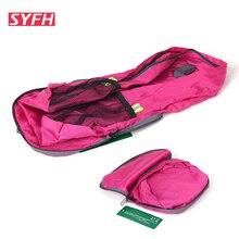 Tragbare Falten Solide Nylon Reisetasche Reisetasche Nylon Wasserdicht Casual Rucksack Tag Pack Schultaschen