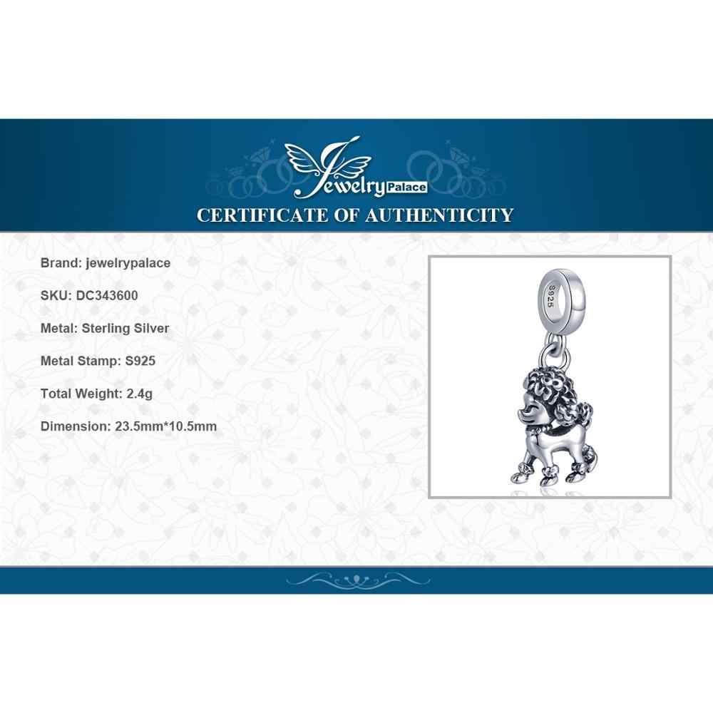 JewelryPalace 925 เงินสเตอร์ลิงพุดเดิ้ลสุนัขลูกปัดเงิน 925 Original Fit สร้อยข้อมือเงิน 925 เครื่องประดับทำ