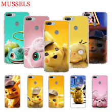Pikachue Movie Printing Protect Phone Case for Huawei Honor 8X 20 9 10 Lite 8A Pro 10i 20i 8S V20 Y5 Y6 Y7 Y9 2019 Coque Cover