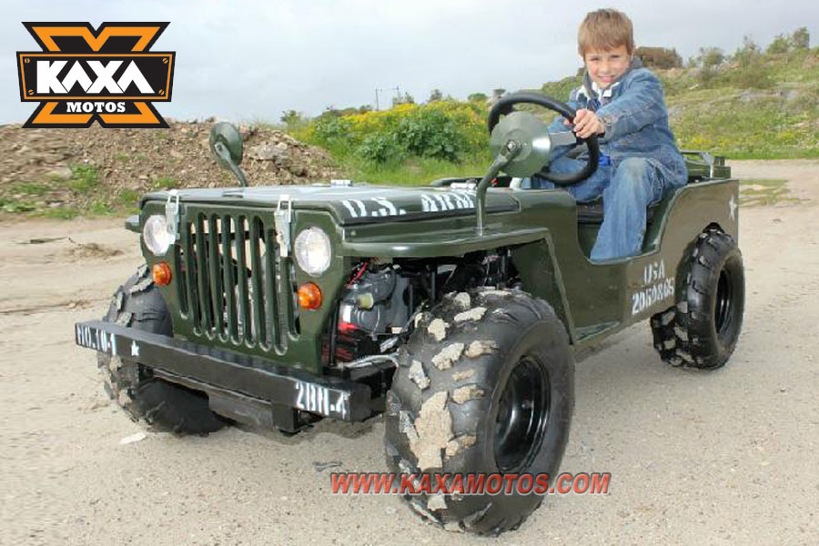 Glimrende Mini Jeep Willys 110cc, 125cc, 150cc-in Crickets from Sports GJ-51