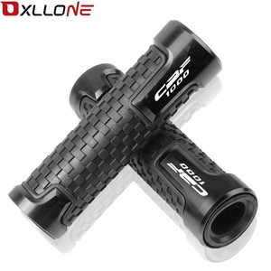 """Image 4 - 7/8""""22mm Motorcycle CNC Accessories Handlebar Grips & Handle bar ends Universal Hand cap For CBF1000/A CBF 1000 A 2006 2007 2013"""