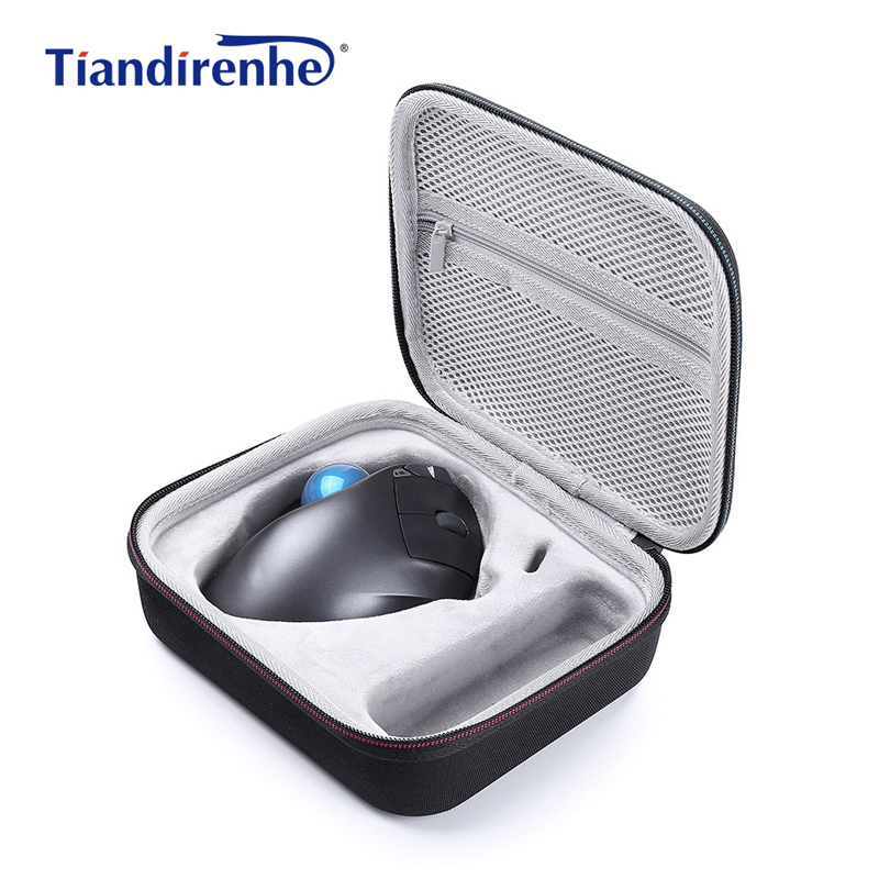 Newest Hard Case for Logitech <font><b>MX</b></font> Ergo Advanced Wireless Trackball Mouse Pouch <font><b>Box</b></font> Case EVA Travel Protective Storage Bag Cover image