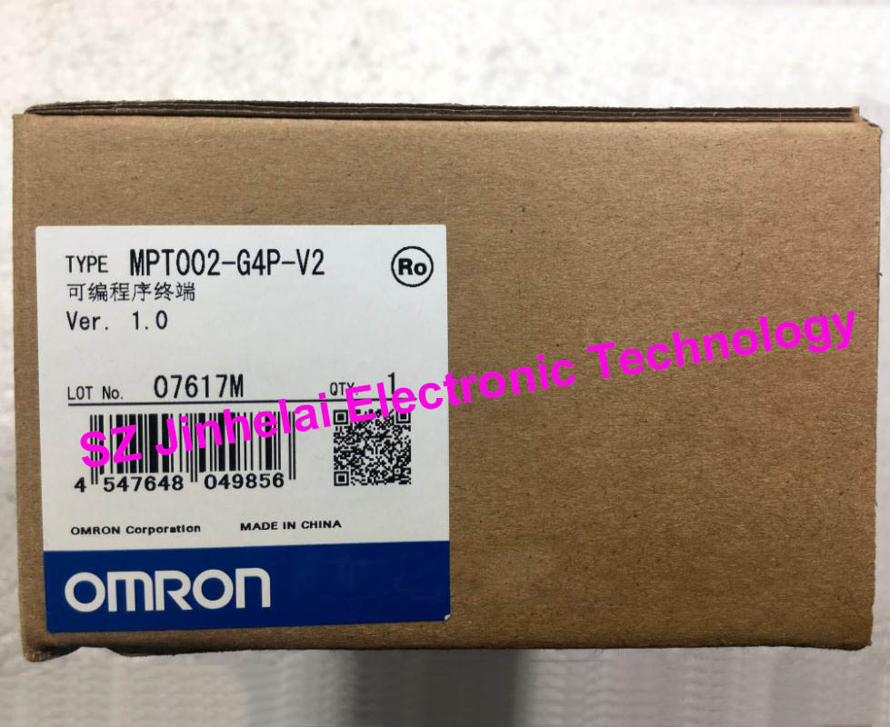 OMRON MPT002-G4P-V2 New and original Programmable terminal,Text display zen 10c1ar a v2 new and original omron programmable relay