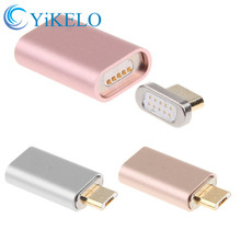 Micro USB Charging Cable Magnetic Adapter Charger Adapter For Android iPhone Samsung LG HTC Huawei Xiaomi ZTE Lenovo Phone P0.26