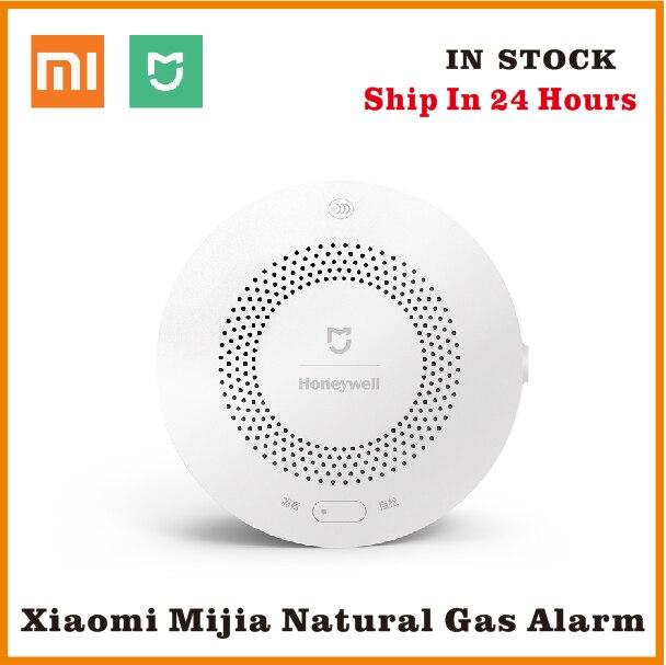100% Xiaomi Honeywell Gas Alarm Detector, Aqara Zigbee Remote Control CH4 Monitoring Ceiling&Wall Mounted Easy Work Mijia APP