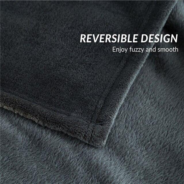 Fleece Plush Blanket for Beds 6