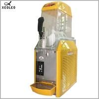 XEOLEO 12L Slushing machine Single cylind Smoothie maker Ice slusher 550W Snow melting machine Smoothies Granita Machine Yellow