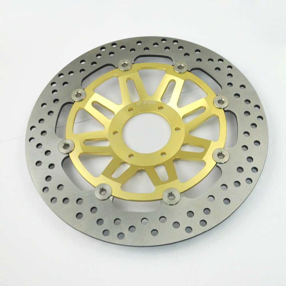 LOPOR LOPOR Motorcycle Front Brake Disc Rotor Fit Honda CB400 NC36 1997-1998 CB400SF F2 1992-1997 CB400 SF F3 1995-1997 NEW 2 pieces motorcycle front disc brake rotor scooter front rear disc brake rotor for honda cb400 1994 1995 1996 1997 1998