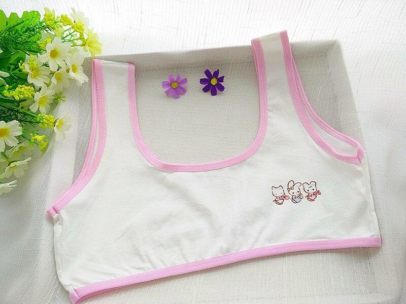 542627b1808d3 cotton young girls training bra 10 15 years old children bras Condole belt  vest kids bra camisole for child-in Bras from Mother   Kids on  Aliexpress.com ...