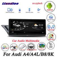 Liandlee For Audi A4 / A4L B8 8K Android Original System Radio Carplay GPS Navi Navigation HD Screen Multimedia No CD DVD Player