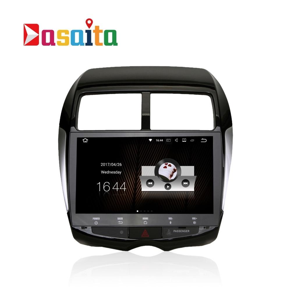 Автомобиль 2 DIN Android 7.1.1 GPS для Mitsubishi ASX RVR Outlander Sport Citroen <font><b>C4</b></font> Air 4008 навигации головное устройство мультимедиа 2 ГБ оперативной памяти