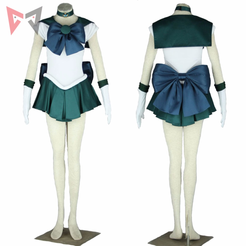 Athemis Anime Sailor Moon Michiru Kaioh / Sailor Neptune Cosplay - Disfraces - foto 2